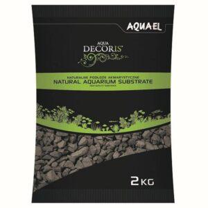 Aquael Basalt Gravel Bodengrund mit 2-4mm Körnung