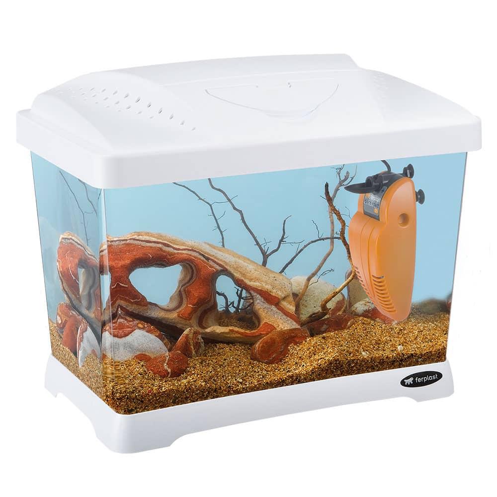Ferplast Aquarium 21 - Capri Junior weiß
