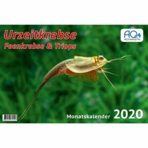Urzeitkrebse Kalender 2020 A4 mit Triops und Feenkrebsen