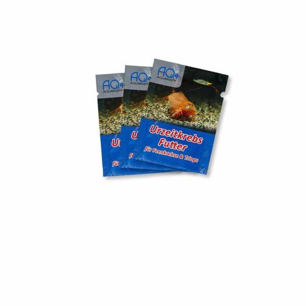 3 Stück AQ4Aquaristik Urzeitkrebs-Futter