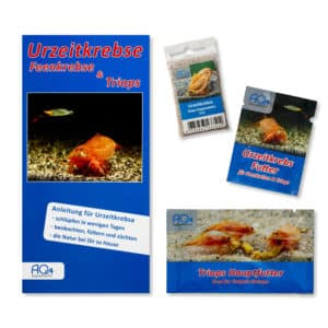 Triops longicaudatus rot UZK-TLR-START