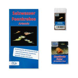 ArtemiaSet klein Artemia parthenogenetica