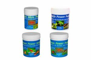 Futterpaket für Fische, Garnelen und Krebse