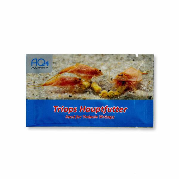 Triops-Hauptfutter