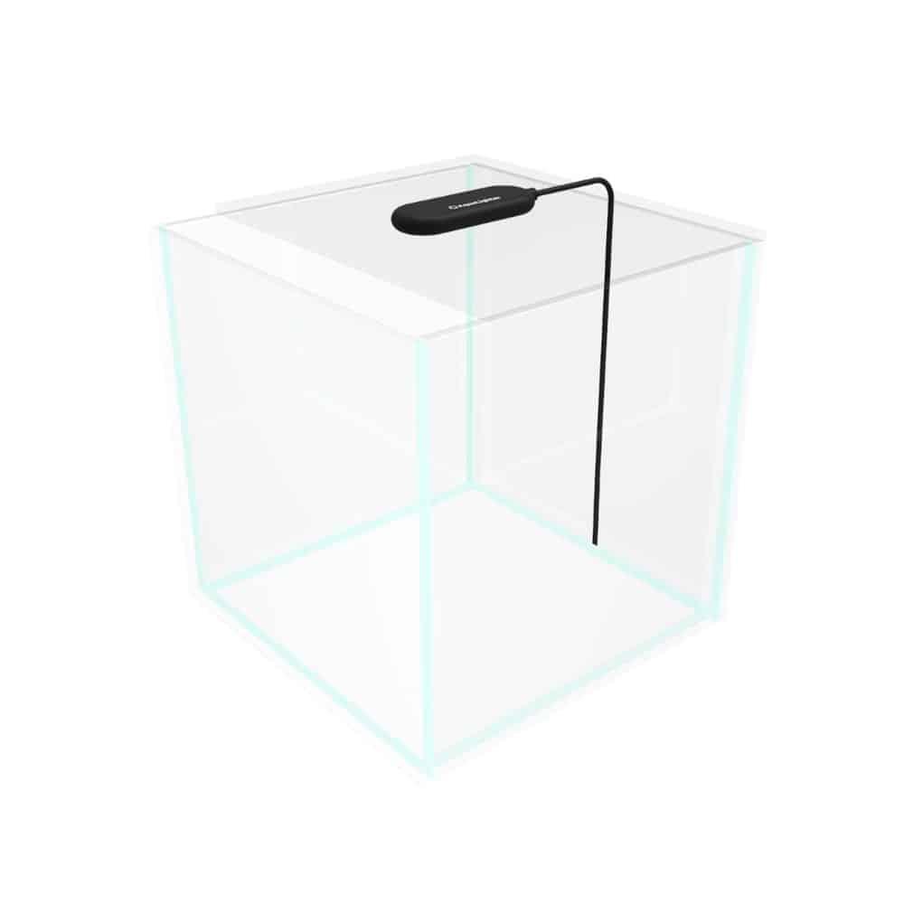 Collar AquaLighter PicoTablet – schwarz – Nano-Aquarium LED Beleuchtung – zum Auflegen – 1 Watt 100 Lumen 6500 Kelvin