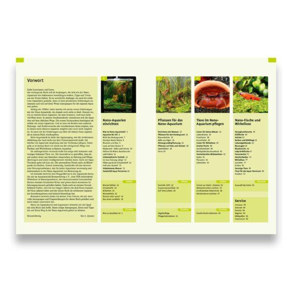 eBook: Kai A. Quante: Nano-Aquaristik Inhalt